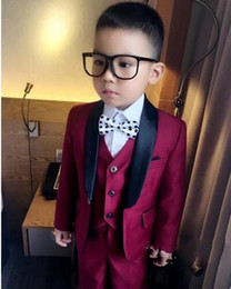 $enCountryForm.capitalKeyWord NZ - Customized boy wedding set children's suits and dance party set costumes, exquisite workmanship, free to choose the color and size.