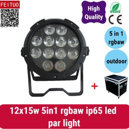 $enCountryForm.capitalKeyWord Australia - 6light with fly case Outdoor led flat par lighting 12*15w rgbwa waterproof led lights par dmx512 controlled led par lights outdoor use