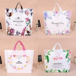 57f7e97b1733 Printing Gift Wrap Shopping Bag Portable Woman Reticule Exquisite Plastic  Lady Cute Flamingo Handbag Storage Bags Fashion 0 75yl3 bb