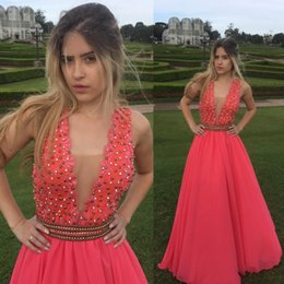 Watermelon Prom Dress UK