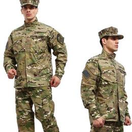 China Tactical shirt + pants multicam uniforms cp camouflage uniform wholesale army uniform for hunting war game cs cheap multicam uniforms suppliers