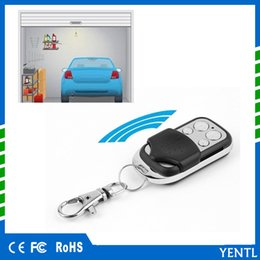 remote control car cloning NZ - Free shipping yentl Electric Cloning Universal Gate Garage car Door Remote Control Fob 433mhz Key Fob Electric Cloning Universal Channel