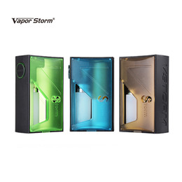 Wholesale nebulizer online shopping - Authentic Vapor Storm Raptor BF Kit Squonker Box Mod ml Bottom Sqounk battery Adapter For Original RDA Nebulizer Tank Kits