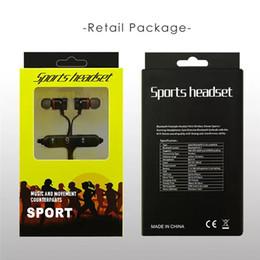 Iphone Wireless Microphone NZ - DHL M5 Bluetooth Headphones magnetic metal wireless Running Sport Earphones Earset With Mic MP3 Earbud BT 4.1 For iphone Samsung Smartphone