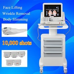 Wholesale Medical Grade HIFU High Intensity Focused Ultrasound Hifu Face Lift Machine Wrinkle Removal With Heads For Face And Body