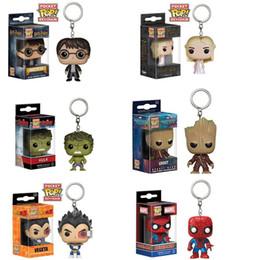 Discount free marvel toys - DHL free shhipping 4cm Funko POP Gxhmy Marvel Super Hero Harley Quinn Deadpool Harry Potter Goku Joker Game of Thrones F