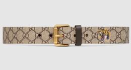 Star Belts Australia - crystal feline head Blooms belt snake bee dragon tiger head feline buckle Men Belt With Box Bees and stars belt