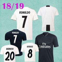 2018 Madrid Soccer Jersey Champions League Player Version Ronaldo Isco  Ramos Asensio T Shirt Espana Iniesta Football Shirts Jersey 509376d3b