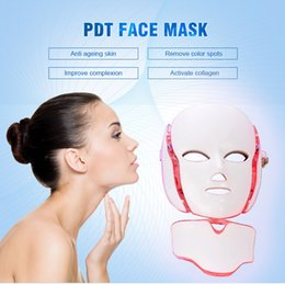 lift facial mask NZ - China manufacturer Personal use 7 Colors Photon LED face Mask Home Use Facial Mask Therapy Beauty Machine