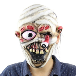 $enCountryForm.capitalKeyWord Australia - Halloween Incident Mask Terrible Face Zombie Evil Figures Halloween Horror Witch Full Face Latex Mask Festival Party Supplies TY2288