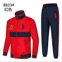 Body Tutu Australia - polo Men s Sports Suit Spring and Autumn New Leisure Men s Decoration Body 3 Colour Size M-2XLcm 8833-2 Sports Suit