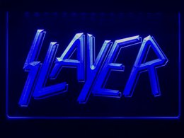 Neon Light Switch Australia - 343b- Best Band Ever Slayer LED Neon Light Sign Provide USB on off switch wire