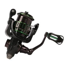 Discount reel bodies - Kingfisher 800 1000 Spinning Fishing reel 162g Ultra-light Spinning Reel 10+1BB Carbon Fiber Body 5.2:1 4kg Drag Fishing