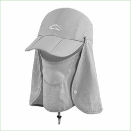 Fish protect online shopping - Fsc01 Outdoor Fishing Hiking Bucket Hat Removable Foldable Portable Waterproof Fisherman Hat Mask Face Protect Cap
