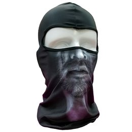 Chinese  Tactical Mask Hood Full Head Balaclava Outdoor Windproof Face Mask, Motorcycle Full Face Mask Cosplay CS Tactical Balaclava Hood manufacturers