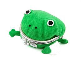 Chinese  Wholesale- New Arrival Frog Wallet Anime Cartoon Wallet Coin Purse Manga Flannel Wallet Cute purse Naruto Coin holder manufacturers
