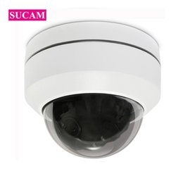Discount high resolution cameras - SUCAM Mini Pan Tilt Motorized 4X Zoom 2MP 4MP PTZ IP Camera Indoor High Resolution Security IR CCTV POE Camera ONVIF 30M