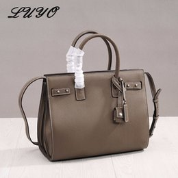 1f15213573 High Quality Genuine Leather Laptop Bag Female Luxury Handbags Women  Top-handle Bags Designer Famous Brands Shoulder For Boss