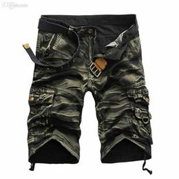 $enCountryForm.capitalKeyWord Canada - Brand designer 2018 New High Quality Men's Camouflage Casual Cargo Shorts Camo Multi-Pocket Outdoor Shorts For Men Pantalones Hombre