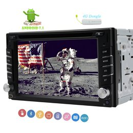 4g mp4 player touch screen online shopping - 4G Dongle Double din Car Stereo Capacitive Mutli touchscreen car DVD CD Video Player GPS Navigation in Dash Autoradio Bluetooth