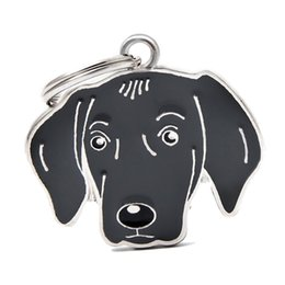 $enCountryForm.capitalKeyWord UK - New Arrival Dog Pendants Hang Charms With 14mm Open Jump Rings Fit For DIY Key Chain Keyrings Pet Collar Jewelry Making HC466