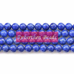 $enCountryForm.capitalKeyWord UK - wholesale On Sale Natural Lapis Lazuli Bead DIY Jewelry Accessory Trendy Loose Stone Round Beads for Make Jewelry Bead Wholesale