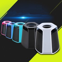 Dock Speakers Australia - New Bluetooth Speaker Wireless Speakers Sound Box Outdoor Mini Phone Audio Portable Card Creative Subwoofer