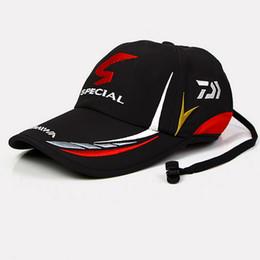 5014cee5cfaab 2017 Daiwa Adult Men Adjustable Fishing Hat New Japan Sunshade Sport  Baseball Fishermen Hat Cap Special Bucket Hat Vdf58102