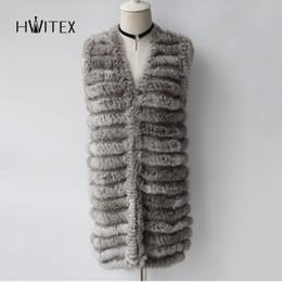 $enCountryForm.capitalKeyWord UK - JM041 women Fashion real Rabbit hair knitted waistcoat Pure girl hand woven Hare fur vest