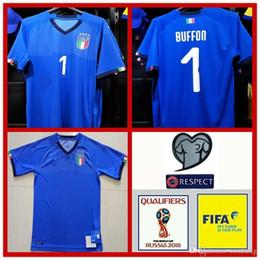 00acbeb22212e 2018 WORLD CUP buffon camiseta de fútbol de Italia equipo nacional Verratti  local lejos Italia camiseta de fútbol IMMOBILE EL SHAARAWY camiseta de  fútbol ...