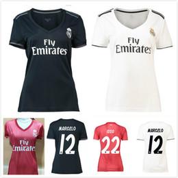 4ba0714dbcf Women S Football Jerseys Canada - 2018 2019 Real madrid women Soccer Jersey  Benzema Ronaldo Modric