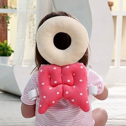 Wholesale Baby Nursing Pillow Toddler Head Pillow Cute Wings Anti Crash Toddler Care Headrest Infant Walk Fall Down Head Protection Pillow