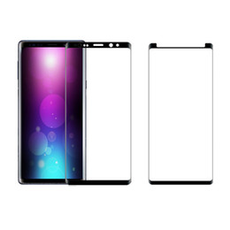 S6 Edge Screen Case Australia - For S9 Screen Protector Full Cover 3D Curved Tempered Glass Screen Protector Case Friendly For Note 9 S8 Plus S7 Edge S6 Note 8