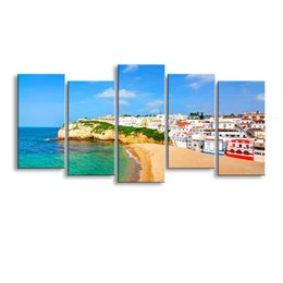 $enCountryForm.capitalKeyWord NZ - 5 pieces high-definition print European landscape canvas painting poster and wall art living room picture PL5-239