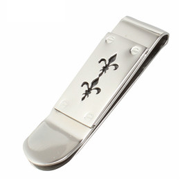 Book Money NZ - Man's Titanium Steel Money Clip Front Pocket Cash Holder Purse Dollar Holder Book Clip Money Card Clamp