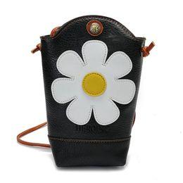 $enCountryForm.capitalKeyWord UK - Kawaii Sunflower Women Bags With Strap Shoulder Organizer Wallets Cell Phone Pocket Small Body Bags Designer carteras mujer