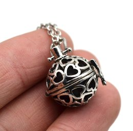 Discount heart pendant filigree 2018 silver filigree heart whole sale10pcs filigree heart small lockets pendant with lava essential oil diffuser necklace aromthraphy lockets necklace jewelry xsh308 mozeypictures Choice Image