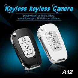 $enCountryForm.capitalKeyWord NZ - FULL HD 1080P Car key camera NO hole car key-chain Mini DV DVR digital video recorder support recording while charging A12