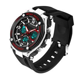 $enCountryForm.capitalKeyWord NZ - 2018 New Arrival Shock Watches for Men Male Outdoor G Style Shock Quartz Wristwatches Men's Digital Analog Watches relogio masculino Saat