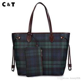 Vente en gros CT nouveau design du sac à main classique Sac de grande qualité en toile enduite de grande qualité Sac à bandoulière Livraison gratuite