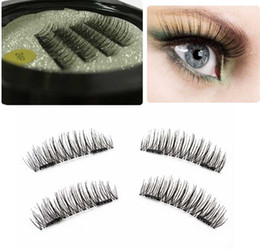 eyelash packaging wholesale Canada - Drop Ship DHL 3D Magnetic False Eyelashes Extension Magnetic Eyelashes Makeup Soft Hair Magnetic False Eyelashes with retail packaging