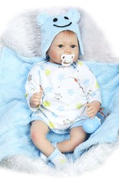 """$enCountryForm.capitalKeyWord Canada - Wholesale- Lifelike Reborn Toddler Doll Soft Vinyl Baby Boy that Look Real Magnetic Mouth, Wait """"Mommy"""" Adopt,22-Inch"""
