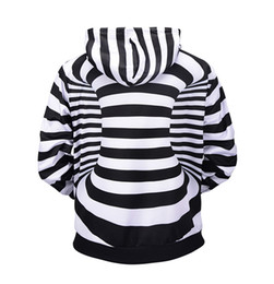 Wholesale cool 3d hoodie for sale – custom Men D Cool Hoodies Stereoscopic Hoodies D Space Long Sleeve Hooded Striped Men Hoodies Hip Hop Fashion Streetwear Plus Size