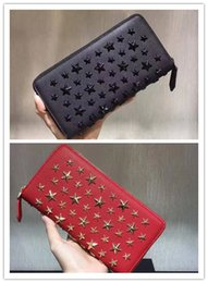 High End Hand Bags Australia - Personality riveting women wallet Luxury brand high-end custom-made genuine leather fashion elegant high quality hand bag