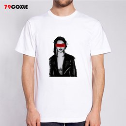 7ed77c6e9 rihanna T Shirts Men o Neck T-Shirt Brand Cotton Mens Patchwork tshirt Size  Man Tees Tops Wholesale Free Shipping MR6395