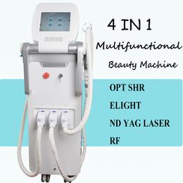 Discount tattoo removal machine best - Best price ipl rejuvenation laser treatment OPT SHR Laser Hair Removal ND YAG Laser Tattoo Removal Multifunction Machine