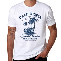 Hot Summer Island Seaside Style T Shirt Uomo T-shirt manica corta in cotone divertente