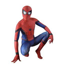 $enCountryForm.capitalKeyWord Australia - Adult Spider-Man Homecoming Costume Civil War Spiderman Cosplay Superhero 3D Print Skin Suit Halloween Costume for Men