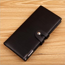 American Tie Wholesale Canada - New Fashion Simple Slim Multi-card Position Large Capacity Male Wallet European and American Soft Leather Men's Short Wallet