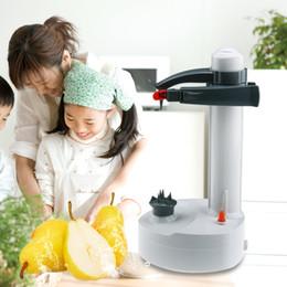 Metal potato peelers online shopping - 100 brand Electric Multifunction Fruit And Vegetable Peeler Potato Peeler Automatic Peeler Peeling Machine